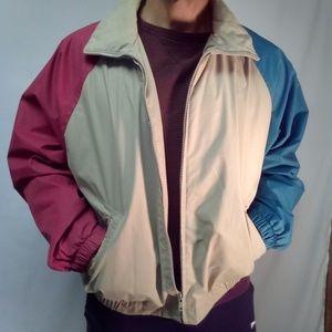 St John's Bay lightweight jacket with hood Large
